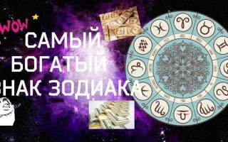 Какие знаки Зодиака самые богатые