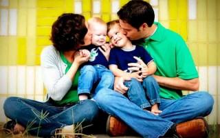 Отношение к детям в современной семье