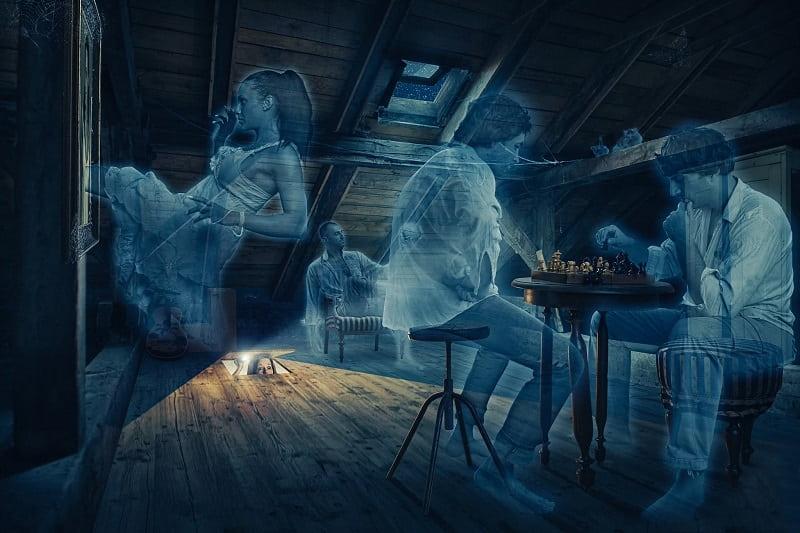 Откуда берутся привидения